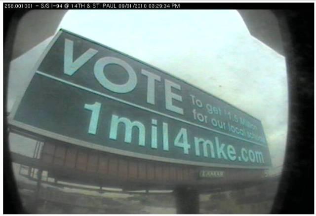 1mil4mke Billboard